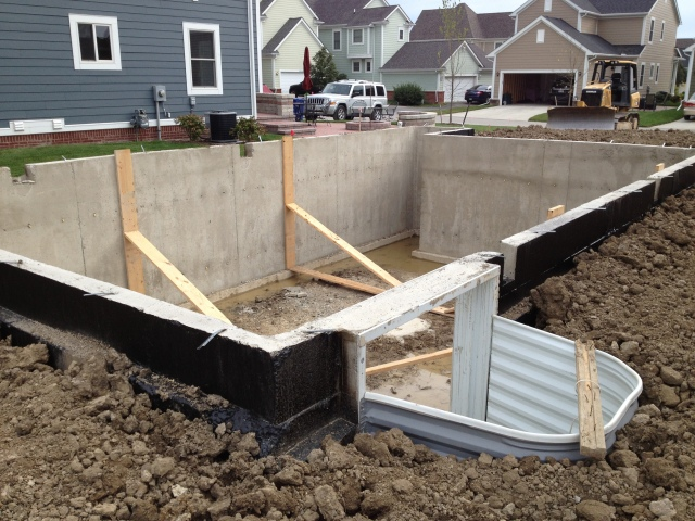 Foundation and egress window