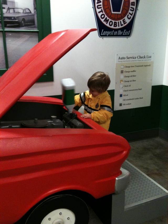 Lucas Henry Ford Car 2